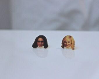 Tina Fey & Amy Poehler BFF Earrings