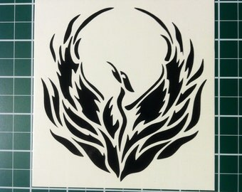Rising Phoenix Die-cut vinyl decal sticker