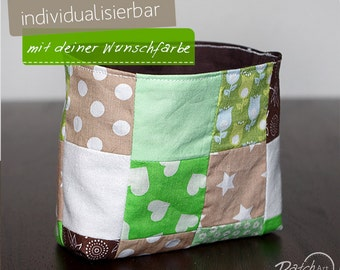 Patchwork - Utensilo,brown - green, Favorite Color