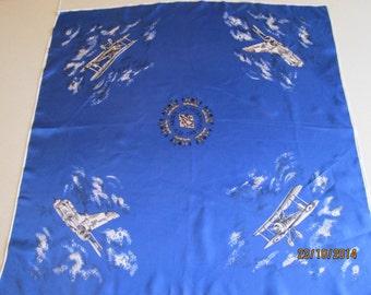 RAF diamond jubilee scarf 1978
