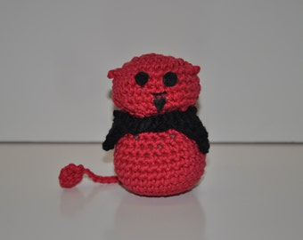 Demon amigurumi