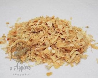 Dried onion flakes with all the taste and flavor of the onion 50gr.