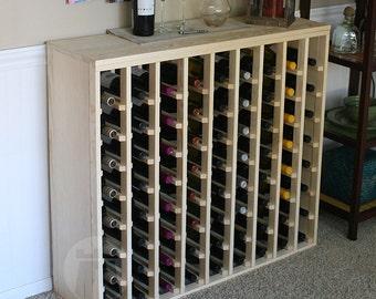 72 Bottle Premium Table Wine Rack (Pine) by VinoGrotto