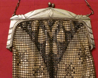 Art Deco Mesh Purse