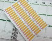 Pencil Study Stickers! Set of 54, for your Erin Condren Life Planner, Plum Planner,  Filoflax, calendar or scrapbook!