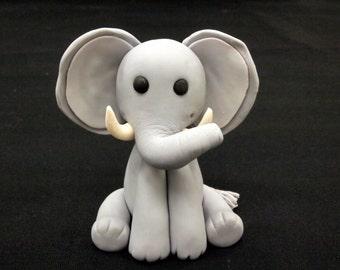 Fondant Elephant Cake Topper (MADE TO ORDER)