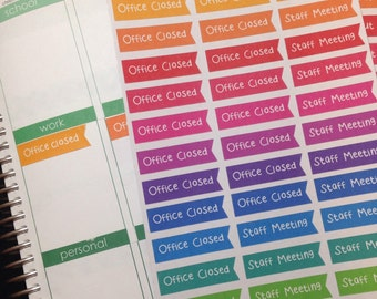 Custom Rainbow Flag Stickers for Planners!