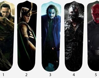 Super Villains Fan Blades