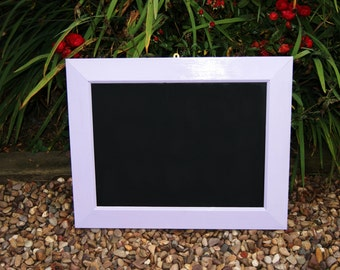 Lilac Up-Cycled Chalk Board