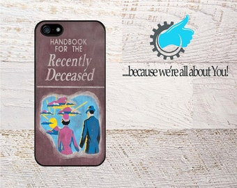 Beetlejuice Handbook for the Recently Deceased iPhone Case. For iPhone 6 6S 7 8 and Plus Can add Monogram or Your Name!