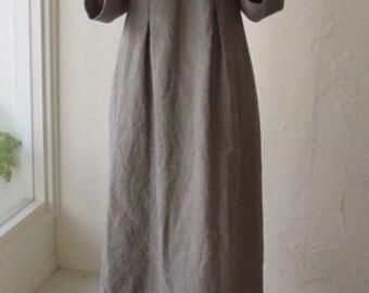 LINNET Pattern / No.34P Box Pleets Dress