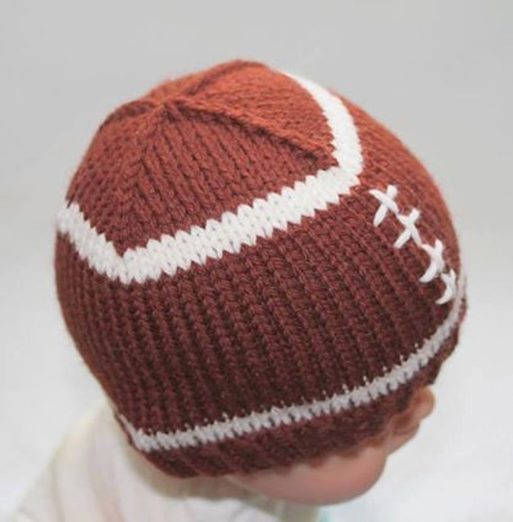 Knitted Baby Football Hat
