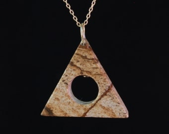 Jasper Recovery Al-Anon Inspired Necklace