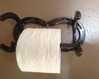 Horseshoe Toilet Paper Holder