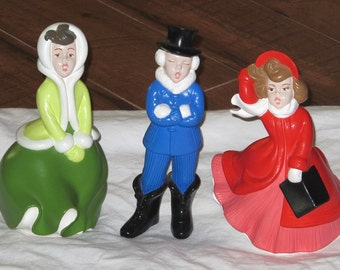Popular Items For Ceramic Carolers On Etsy