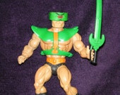 Vintage 1980s Retro TRIKLOPS HeMan Toy Figure Masters of the Universe By Mattel