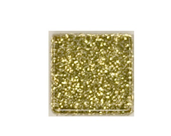 14kt Gold Glitter Crystal Glass MosaicTiles