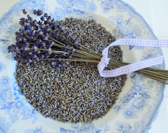 1 lb DRIED LAVENDER, French Lavender, Bulk Lavender, Lavender Sachets, Ecofriendly Confetti, potpourri, aromatherapy, Wedding Favors