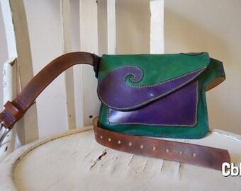 Leather Waist spiral
