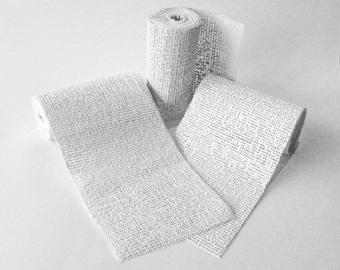 Craftmill Modroc - Modrock Plaster of Paris Modelling Bandage - 12 roll pack