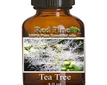 Tea Tree Essential Oil - Melaleuca alternifolia - 100% Pure Therapeutic Grade