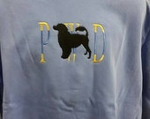 Portuguese Water Dog Embroidered Sweatshirt