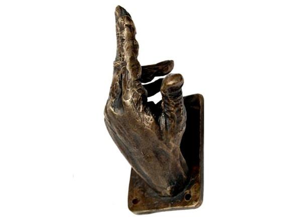 hand coat hook 8