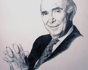 CUSTOM ONLY - Pencil Portrait drawn from your favorite photograph.