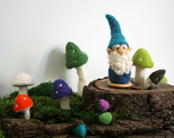 Woodland Gnome- Approx 4""