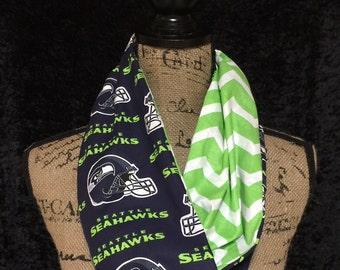 Seattle Seahawks NFL Infinity Scarf