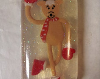 Reindeer Embedded Toy Soap with Organic oils