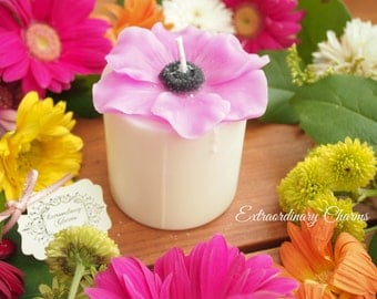 Anemone Candle  *Pink*