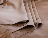 Undyed Goat and Calf Splits - Vegetable Tanned