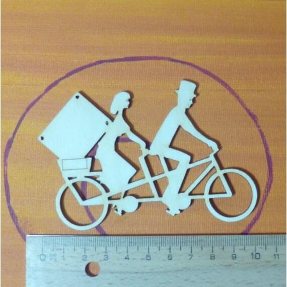 tandem fahrrad 10cm geschenk f r hochzeiten geburtstage. Black Bedroom Furniture Sets. Home Design Ideas