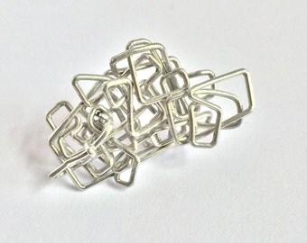 Wire Maze Ring