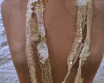 Weaving Gold Necklace