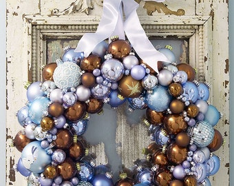 balls wreath- not for sale yet