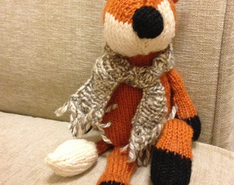 George The Fox Hand Knitted Toy