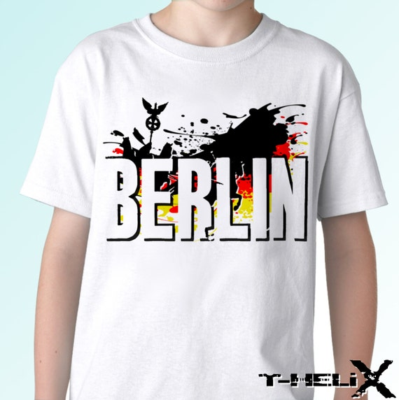 berlin germany flag new white t shirt flag country print. Black Bedroom Furniture Sets. Home Design Ideas