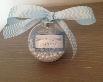 Holiday Ornament Wedding Favor - set of 50