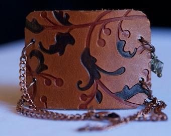 Leather Cuff Wrap Bracelet