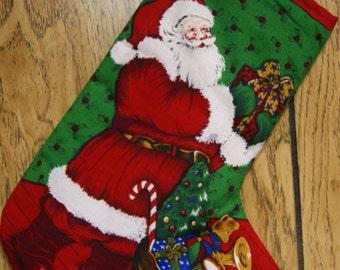 Christmas Stocking - Santa Claus
