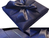 Royal Blue Wedding Invitation Box