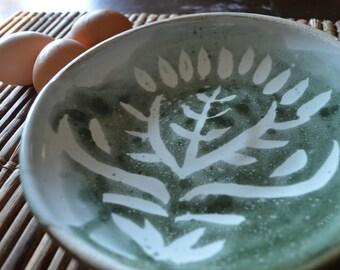 Medium Green Plant Plate