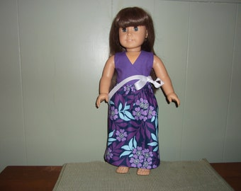 American Girl doll Trendy wrap dress