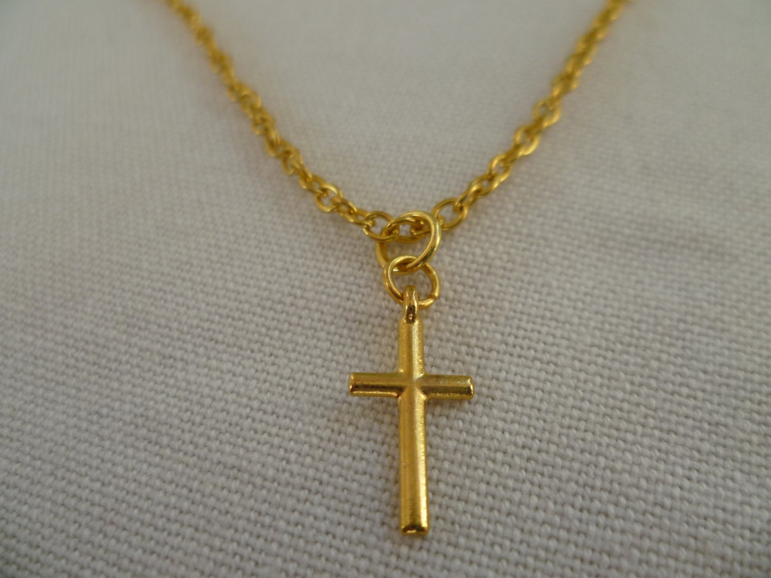 cross necklace gold cross necklace small gold cross