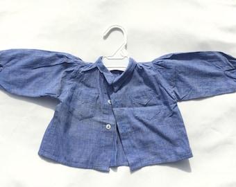 Handmade Blue Baby Blouse