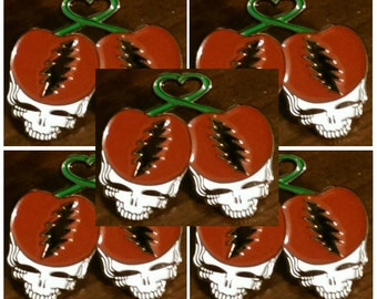 5 Pin Pack Combo Deal - Grateful Dead Cherries!