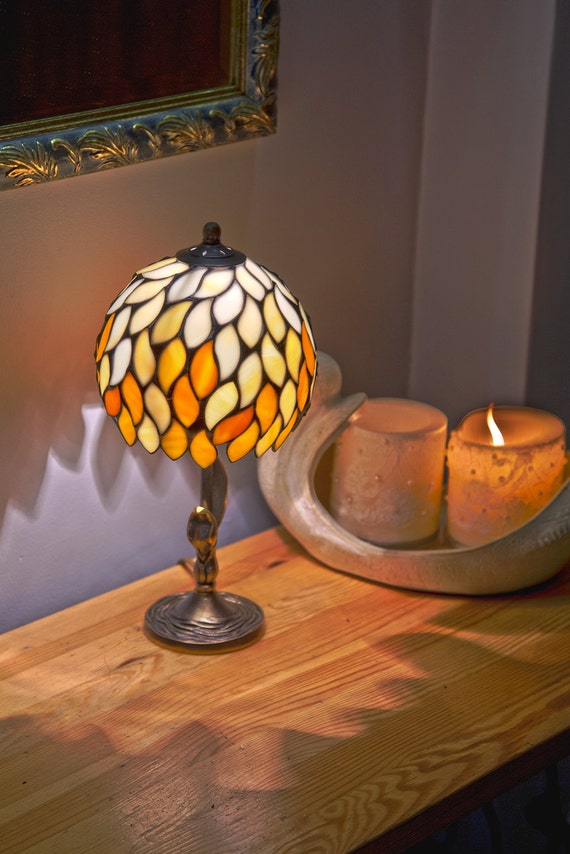 Small Lamp Shade Stained Glass Lamp Small Lamp Bedside