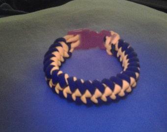 UV Reactive Snake Bite Paracord Bracelet
